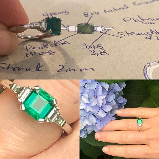 Ideas in action! #bespokejewelry#atlanta