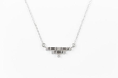 Clara Deco Diamond Necklace