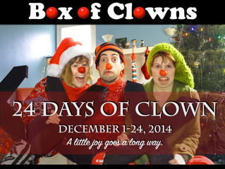 24 Days of Clown