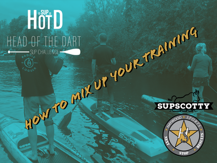 How to mix up your training & paddling to stay fresh & engaged