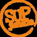 SUPjunkie-Large Orange Circle - No Back.
