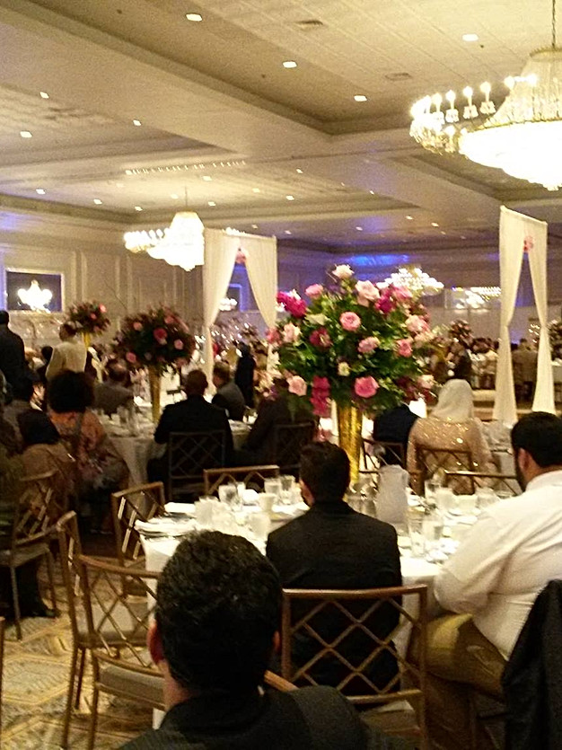 Drury Lane - Wedding Reception