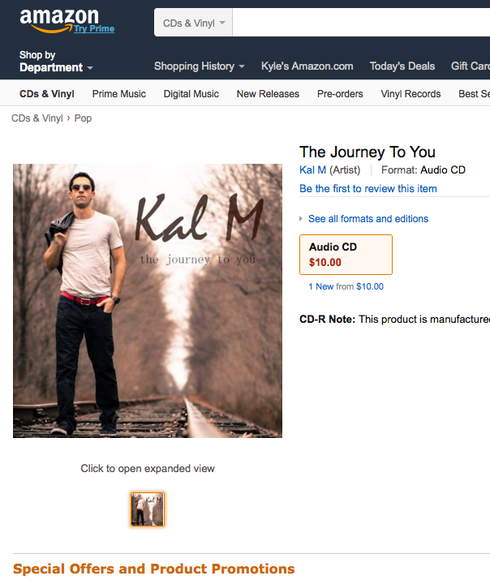 The Journey To You CD Now Available