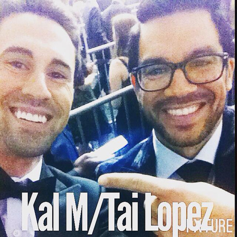 Kal M Attends 2017's 59th Grammy Awards