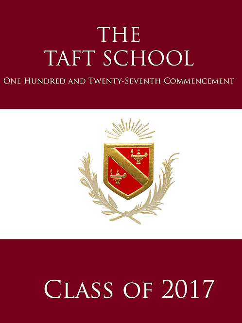 Taft Graduation Ceremony 2017