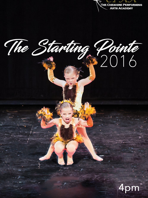 CPAA 2016 Dance Recital - The Starting Pointe