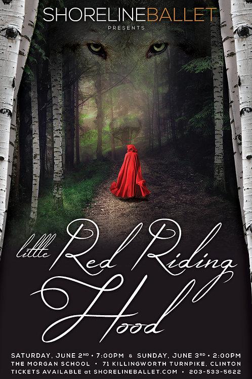 Shoreline Ballet 2018 Little Red Riding Hood