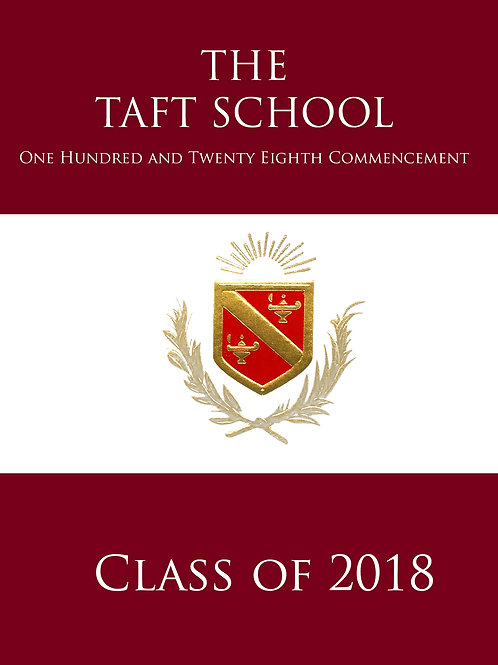 Taft Graduation Ceremony 2018