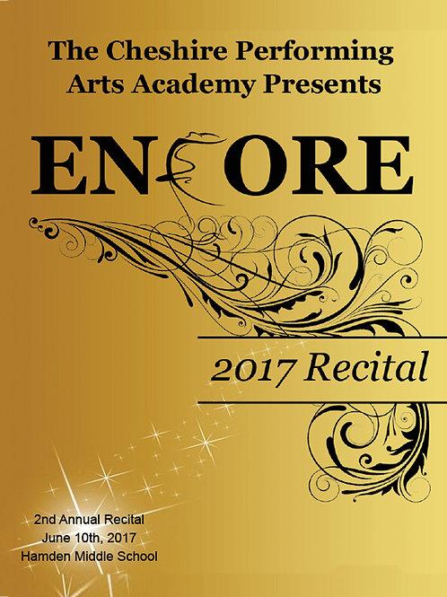 "CPAA 2017 Dance Recital - ""Encore!"""