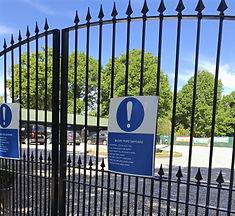 Mucky Pupz Gated Entrance