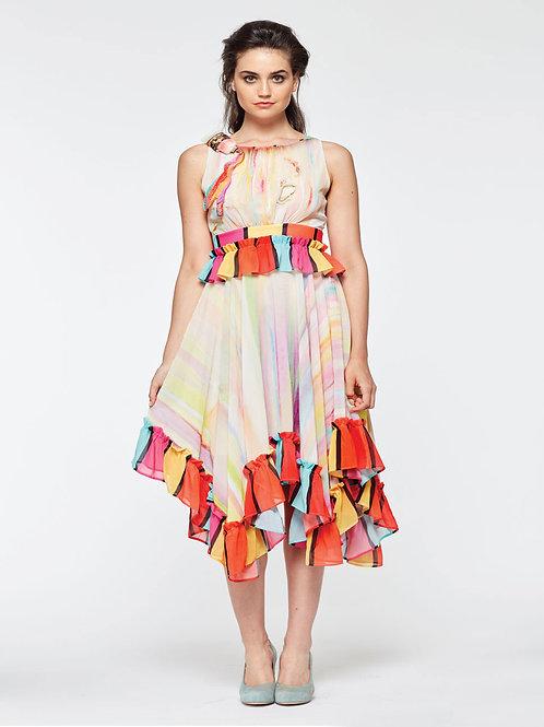 Dress Shiffon - Can't Wait to Paint
