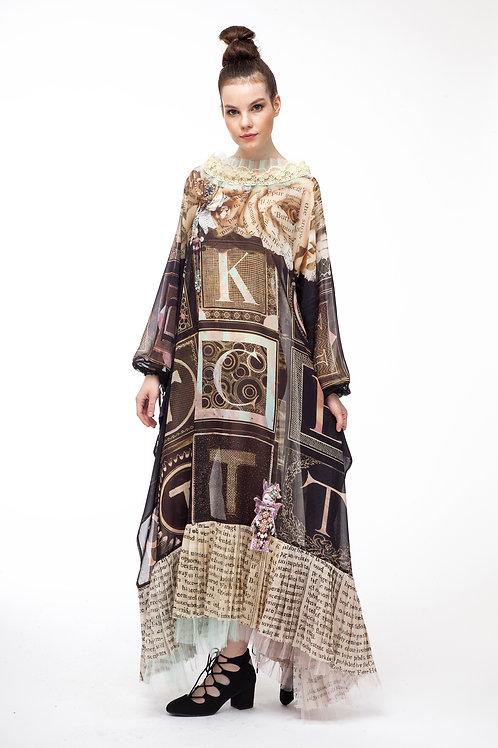 Shawl Dress Long - Poudre D'Ange