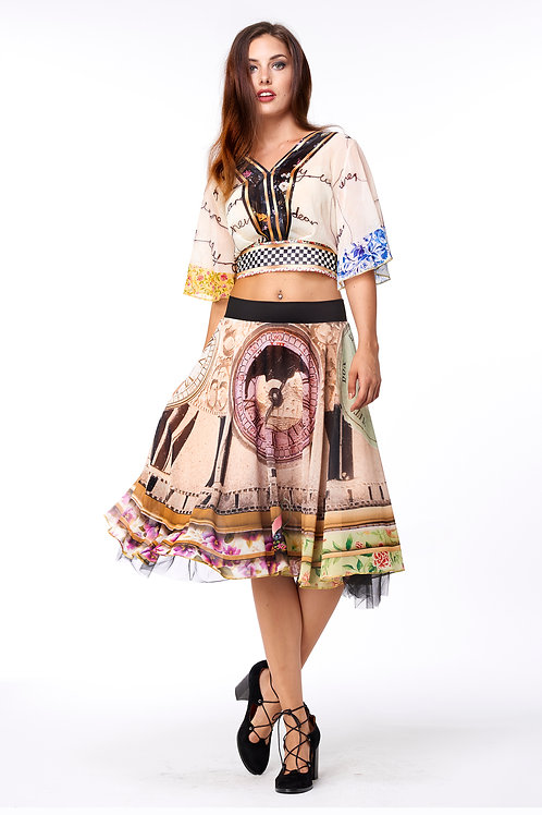 Skirt Shiffon - Tea Time
