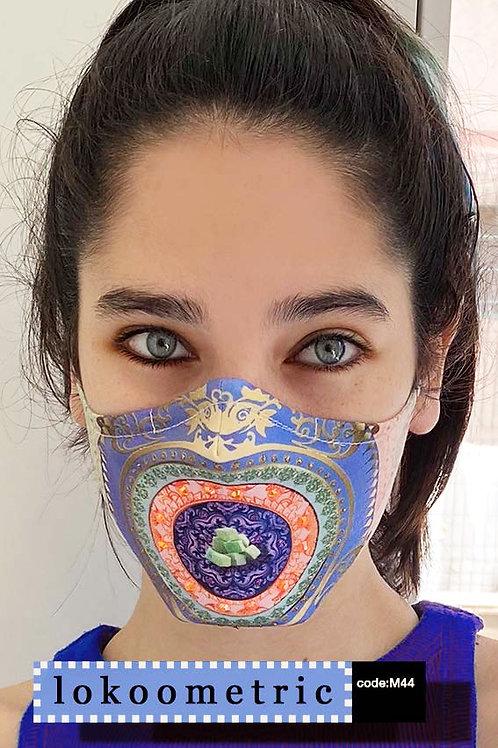 Mask with Print - Lokoometric