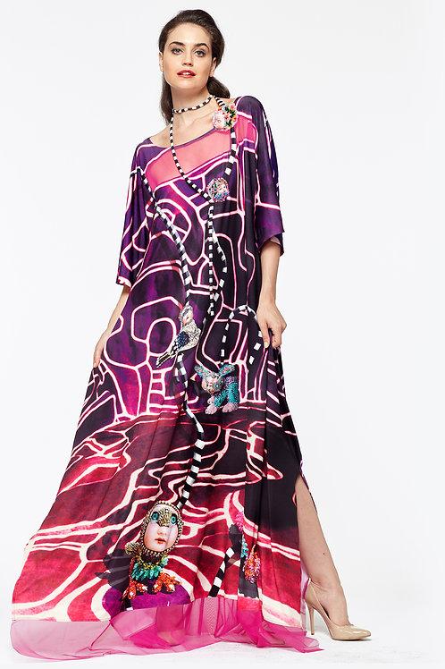 Shawl Dress Long - Fanimaly