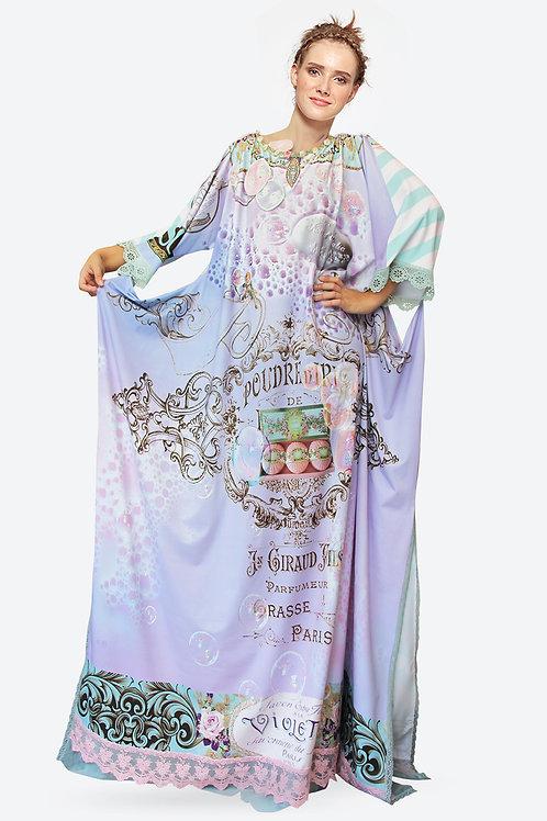 Shawl Dress Long - Double Bubble