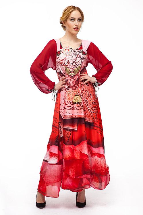 Dress Jumper Long - Rosessence