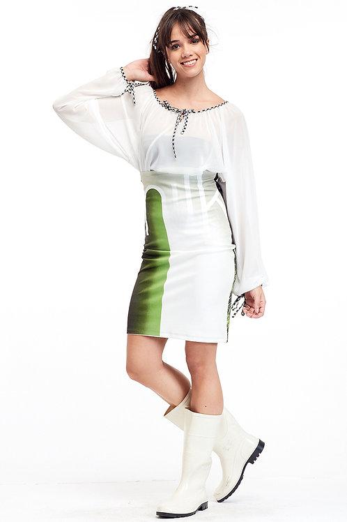 Skirt Mini - Ever Green