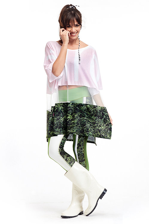 Blouse T Long - Ever Green