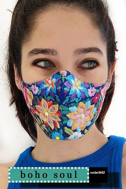 Mask with Print - Boho Soul