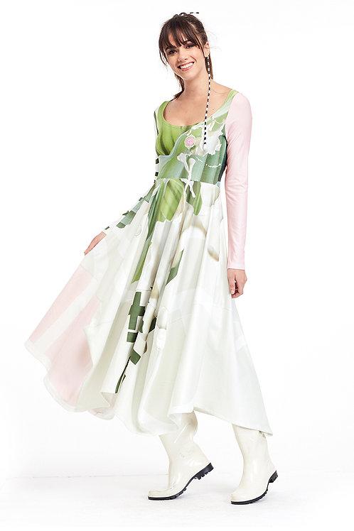 Dress Four Corner - Ever Green