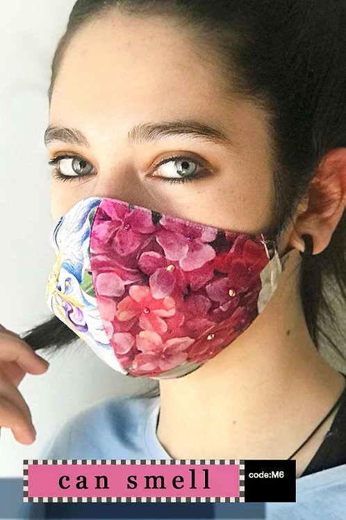 Mask with Print - Can Smell