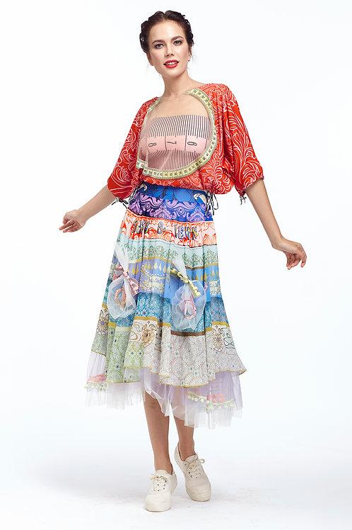 Skirt Shiffon - Lokoometric