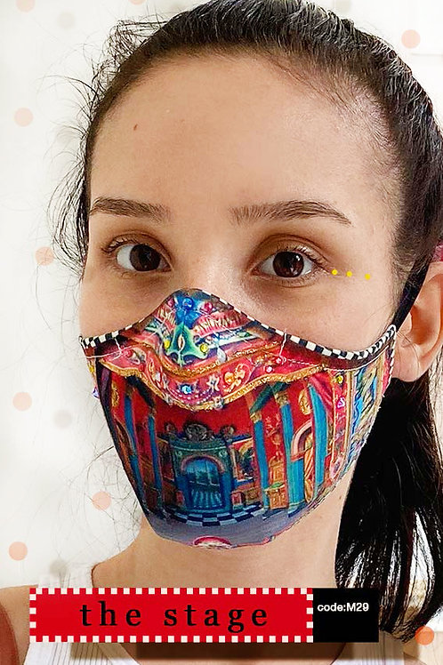 Mask with Print - The Stage