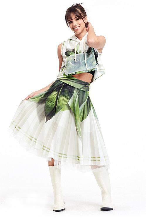 Skirt Shiffon - Ever Green