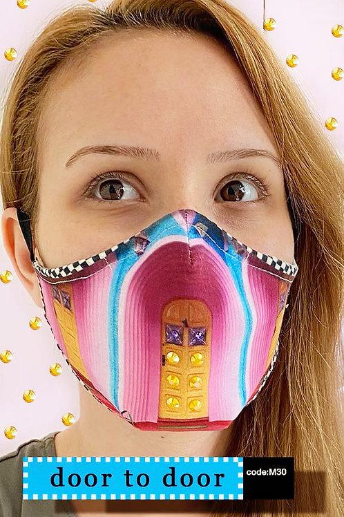 Mask with Print - Door to Door