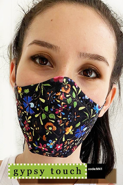 Mask with Print - Gypsy Touch