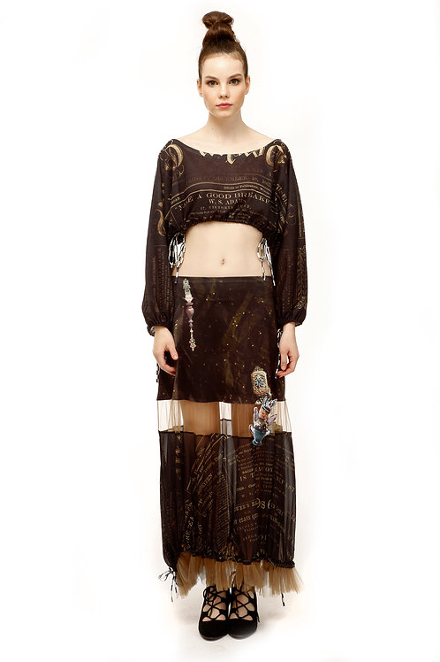 Skirt Long - Poudre D'Ange