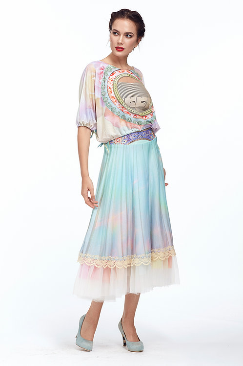 Skirt High Waist - Lokoometric