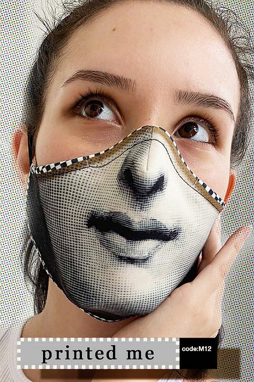 Mask with Print - Printed Me