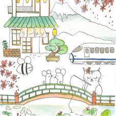 Japan series - Waterlily Pond