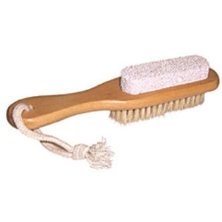 Clover Fields Wooden Pumice Brush Combo