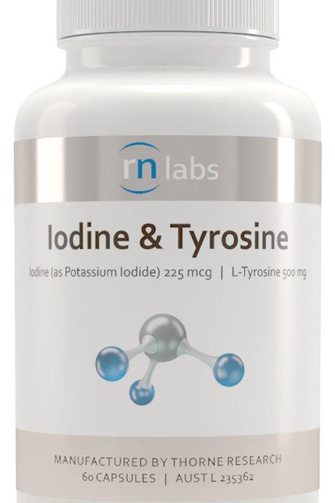 Iodine & Tyrosine 60 caps