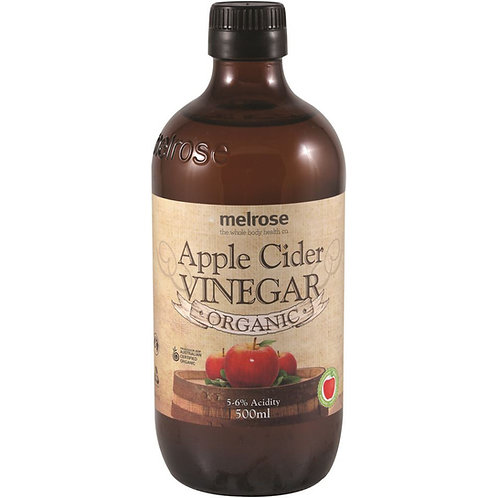 Apple Cider Vinegar Organic 500ml