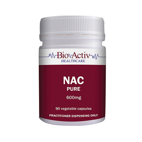 NAC (N-Acetyl-Cysteine) 600mg 90 veg caps