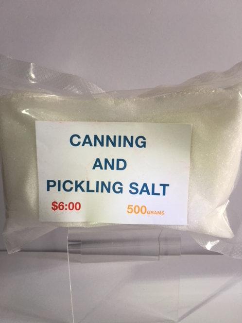 Canning & Pickling Salt 500gm