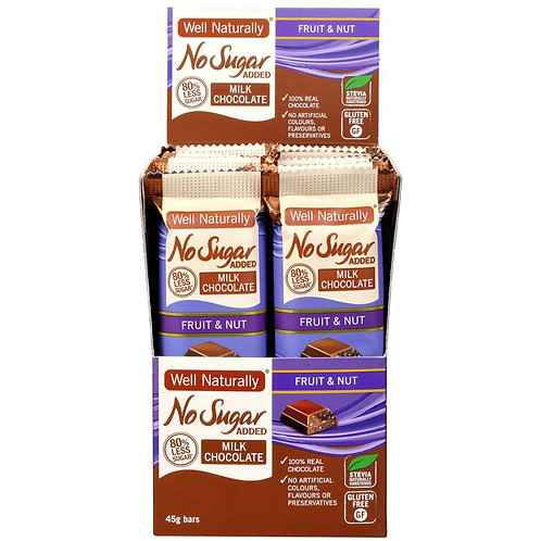 Milk Chocolate Fruit & Nut 45g