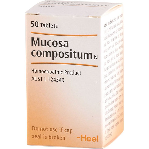 Mucosa Compositum N 50 tablets