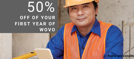 GET 50% OFF YOUR FIRST YEAR OF WOVO