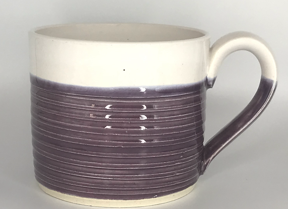 Mulberry Stripey Mug