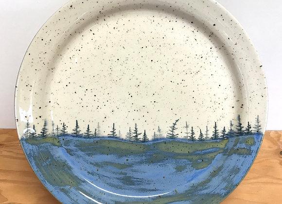 Spring Lake Landscape Dinner Plate