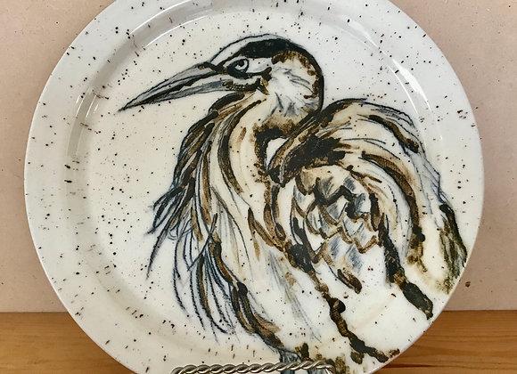 Heron Dinner Plate