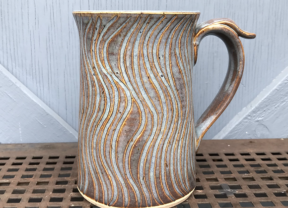 Carved Stein (Blue Rutile)