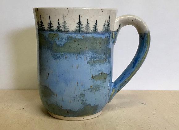 Spring Lake Landscape Mug
