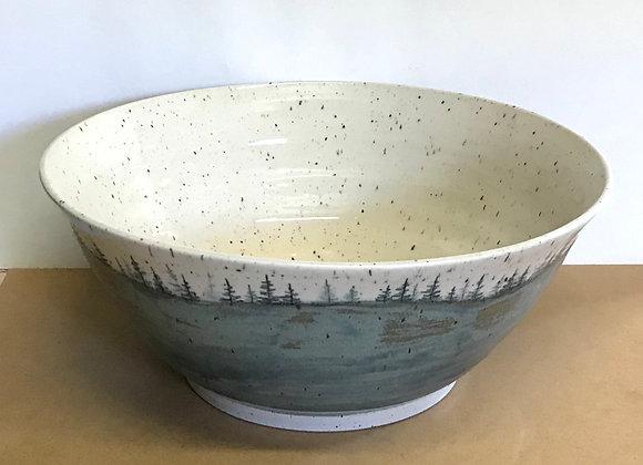 Large Landscape Bowl