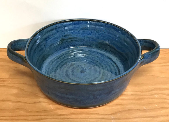 Small Blue Oven Dish